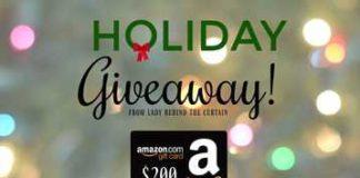 Free $200 Amazon Giftcard Giveaway