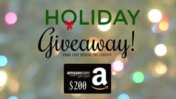 Free $200 Amazon Giftcard Giveaway
