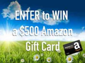 Free $500 Amazon Giftcard Giveaway