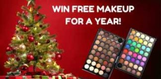 Free Makeup for a Year Giveaway