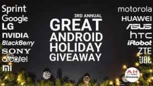 The Great Android Holiday Giveaway 2017