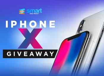 Apple iPhone X Giveaway from Smart DNS Proxy