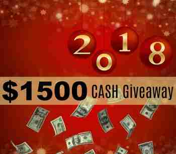 Free $1500 Cash Reward Giveaway