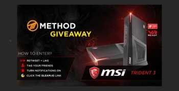 MSI Trident 3 VR-Ready Gaming PC Giveaway