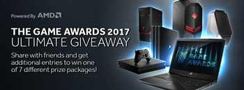 The Game Awards 2017 Ultimate Giveaway – Win 1 out of 7 Tech Prizes