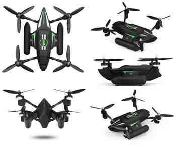Win Free WLtoys Q353 Triphibian Quadcopter