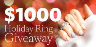 Win $1000 Diamond Ring from Scented Treasures