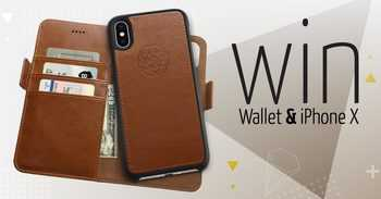 iPhone X and 111 iPhone Wallet Cases Giveaway