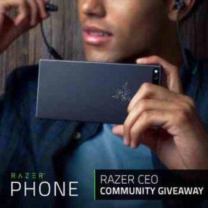 Win Free Razor Smartphone