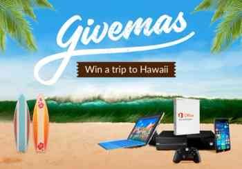 Win Free Trip to Hawaii for 2 / Surface Laptop / Windows Phone / Xbox /10 Office 365 one-year license