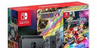 CamBlack Nintendo Switch & Mario Kart Bundle Giveaway