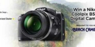 Coolpix B500 Digital Camera Giveaway