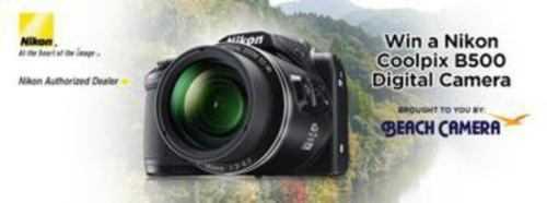 Coolpix B500 Digital Camera Giveaway