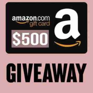Pretty Loved $500 Amazon Gift Card Giveaway