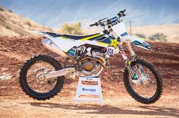 Rockstar National SX Sweepstakes - Win Husqvarna FC 350