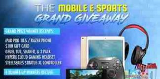 The Mobile E-Sports Grand Giveaway