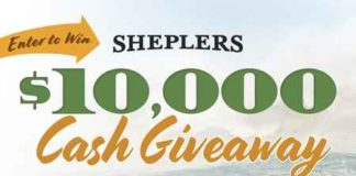 Win $10000 Cash from Sheplers