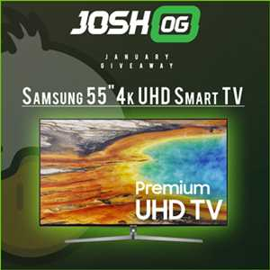 Win Free Samsung 55 inch 4K UHD Smart TV