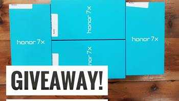 Win 1 out of 4 Honor 7X Smartphone from iGyaan