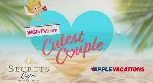 wgntv cutest couple contest - free trip