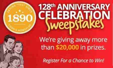 Conn's Anniversary Celebration Sweepstakes