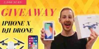 Max Hertan iPhone X Giveaway