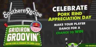 Pork Rinds Gridiron Groovin' $2500 Sweepstakes