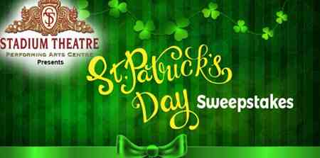 Providence Journal St Patricks Day Sweepstakes