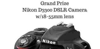 Win Nikon D3300 DSLR Camera from TheProCamera