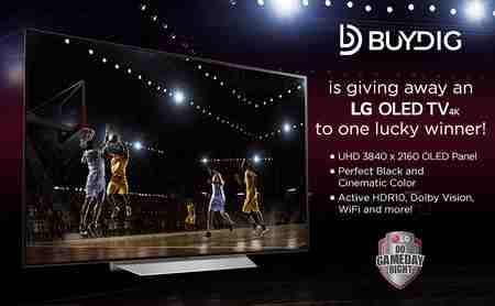 BuyDig LG 4K OLED TV Giveaway