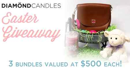 Diamond Candles Easter Basket Sweepstakes (Each worth $500)