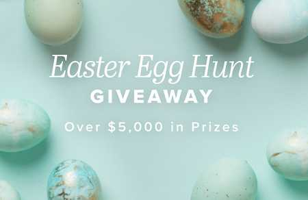 Jane Easter Egg Hunt Giveaway