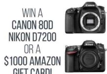Photo Flash Drive Nikon canon Camera Giveaway