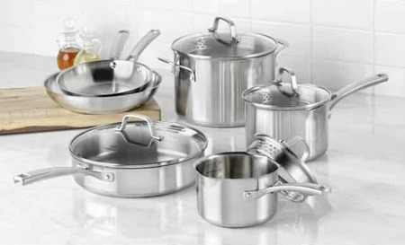 Steamy Kitchen Calphalon Stainless Steel Cookware Set Giveaway