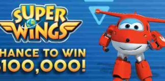The $100,000 Super Wings Sweepstakes