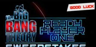 The Big Bang Theory Ready Player One Sweepstakes 2018