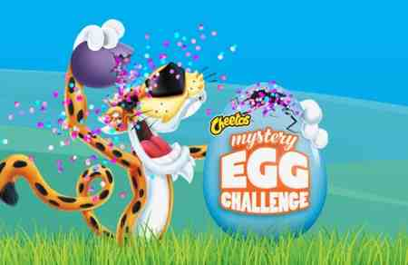 The Cheetos Mystery Egg Challenge Giveaway