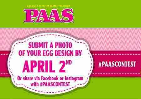 The PAAS Easter Egg 2018 Ultimate Egg-Off Contest