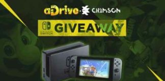 Win Free Nintendo Switch from aDrive & CrimsonCBAD
