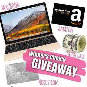 Win Macbook Air from Our Fab Fash Life