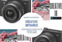 Win Nikon J3 Converted Camera from Creative Infrared & LifePixel.com