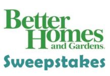 Better Homes and Gardens Daily giveaway