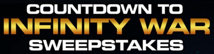 Countdown to Infinity War Sweepstakes (InfinityInstantWin.com)