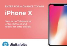 DigitalBits iPhone X Giveaway (www.digitalbits.ioiphonex)