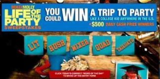 Mike And Molly Life of the Party Sweepstakes (Daily Secret Code)