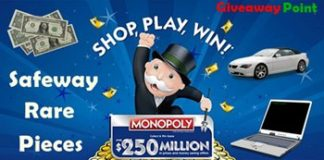Rare Safeway Monopoly Game 2018 Pieces