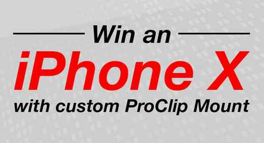 ProClip USA iPhone X Giveaway
