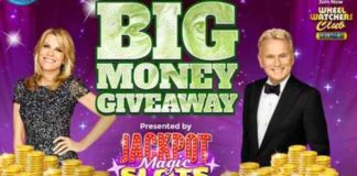 Wheel of Fortune Big Money Giveaway