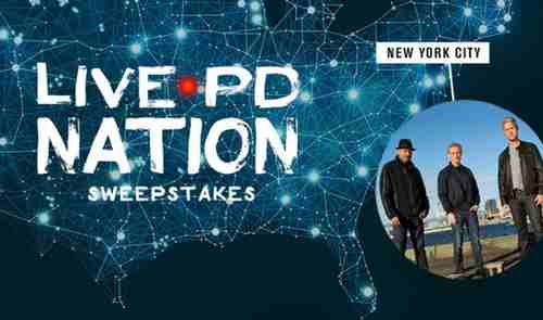 A&E Television Live PD Sweepstakes