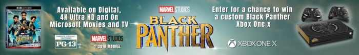 Black Panther Xbox X Sweepstakes